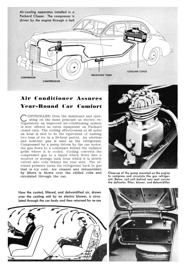 Packard Clipper Air Conditioner